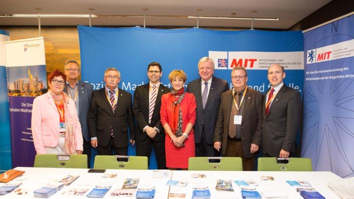 MIT auf dem CDU Landesparteitag in Darmstadt