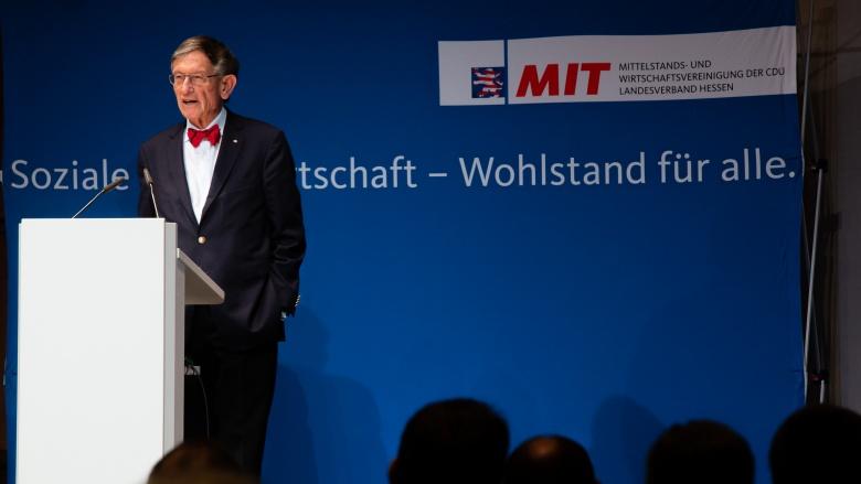 Prof. Heinz Riesenhuber