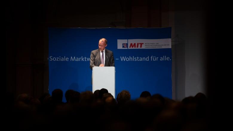 Friedrich Merz spricht bei der MIT Hessen