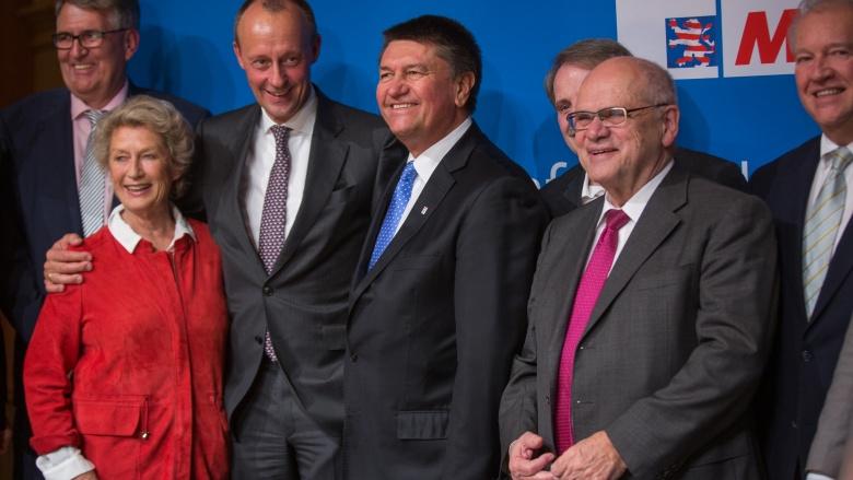 Jürgen Diener, Petra Roth, Friederich Merz, Christoph Fay, Bernd Ehinger, Ulrich Caspar